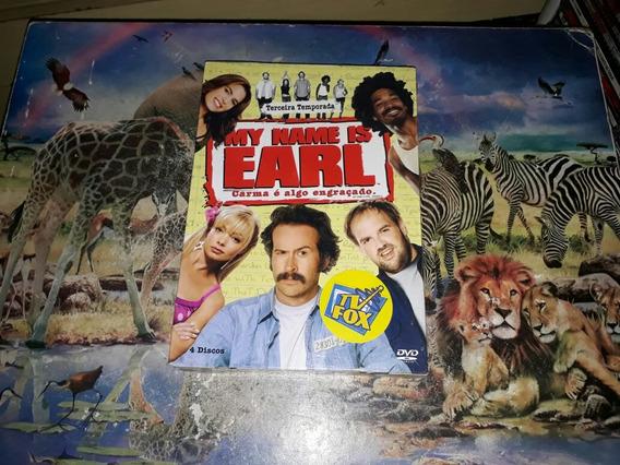 Dvd Box Dvd My Name Is Earl 3ª Temporada Original Lacrado