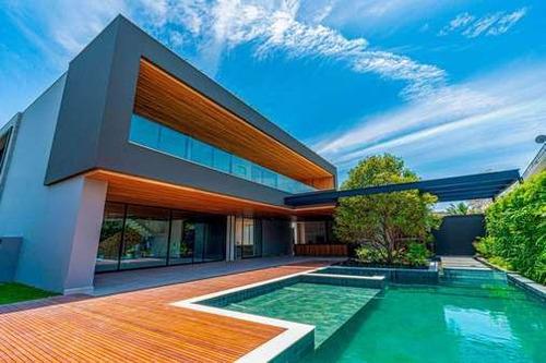 Imagem 1 de 13 de Casa - Barra Da Tijuca - Condominio Del Lago  - 2d33
