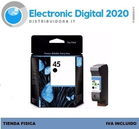 Cartucho Tinta Hp 45 Negro 51645al Original