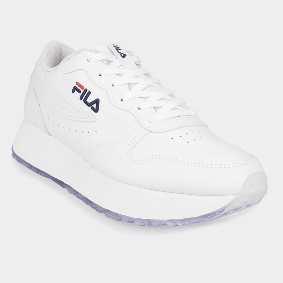 Zapatillas Fila Blancas Moda 2020 Plataformas