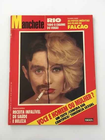 Revista Manchete Filho Falcão - 28 Janeiro 1984 Nº 1658