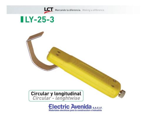 Imagen 1 de 3 de Pelacables Circular Ly-25-3 Lct