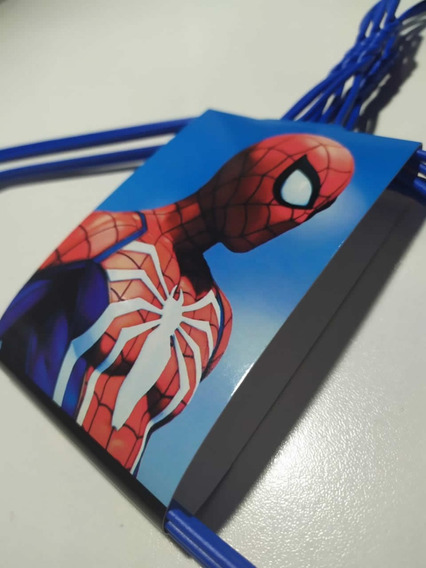 Cotillon Spiderman Hombre Araña Perchas Alambre Regalo Util