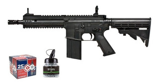 Rifle Umarex Steel Force Co2 + 2500 Postas + 25 Tanques Kit