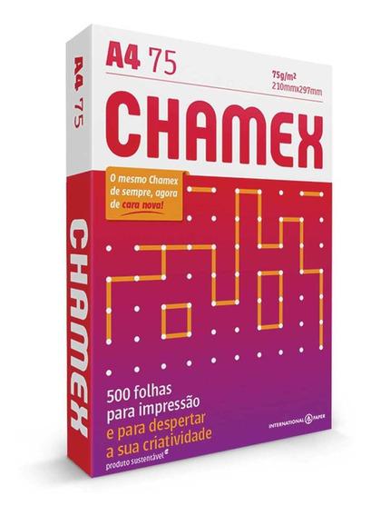 Papel Sulfite Chamex Office 75g A4 - Pacote Com 4000 Folhas