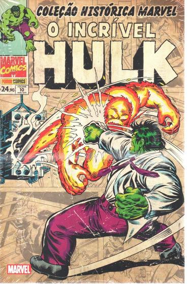 Colecao Historica O Incrivel Hulk 10 - Bonellihq Cx126 I19