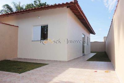 Casa Com 1 Dorm, Jardim Das Palmeiras, Itanhaém - R$ 135.000,00, 110m² - Codigo: 268 - V268