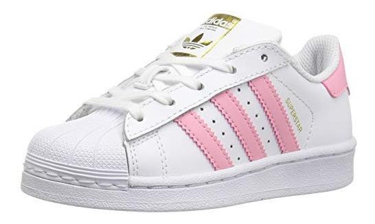 Tenis Adidas Superstar Concha Rosa Tenis Adidas Blanco en