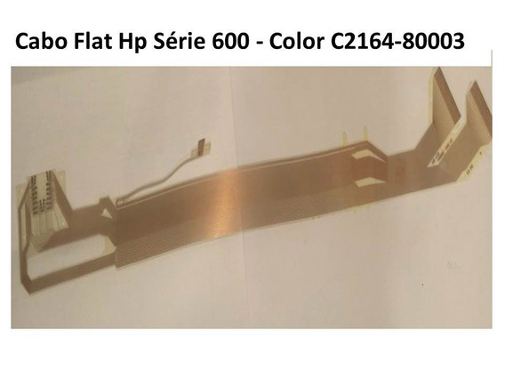 Cabo Flat Hp Série 600 - Color C2164-80003(30mm De Largura)