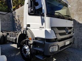 Mercedes-bens Axor 3131 6x4 Ano 2014 Plataforma Longo (top)