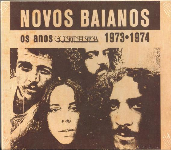 Novos Baianos - Os Anos Continental ( Box, 2 Cds ) Lacrado