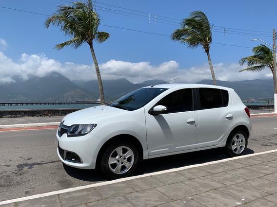 Renault Sandero Dynamique 1.6 2015 Branco 5 Portas