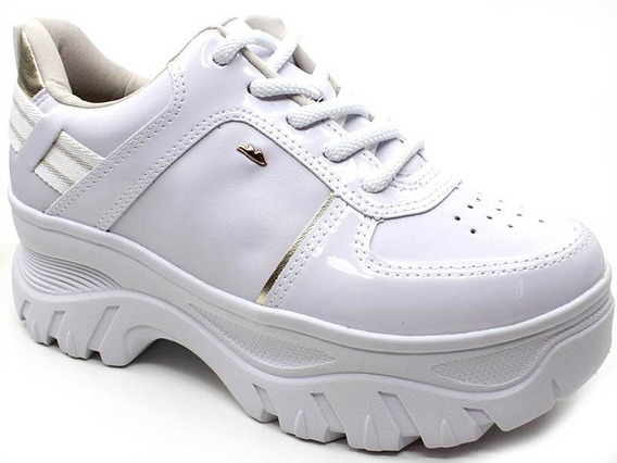 Tênis Feminino Dakota Dad Sneaker Branco G2502