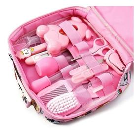 Kit Higiene E Cuidados Do Bebe Termômetro Recém Nascido Rosa