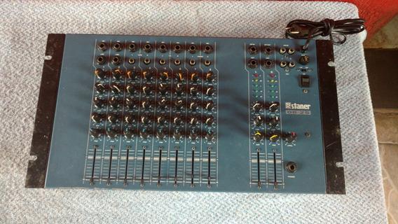 Mesa De Som Staner 8 Canais Modelo 08-2s ( Atenção)