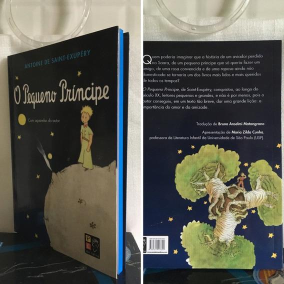 Livro O Pequeno Príncipe - Com Aquarela Do Autor!