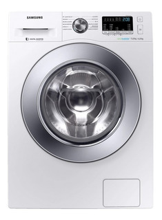 Lavadora e secadora de roupas automática Samsung WD4000 WD11M4 branca 11kg 110V