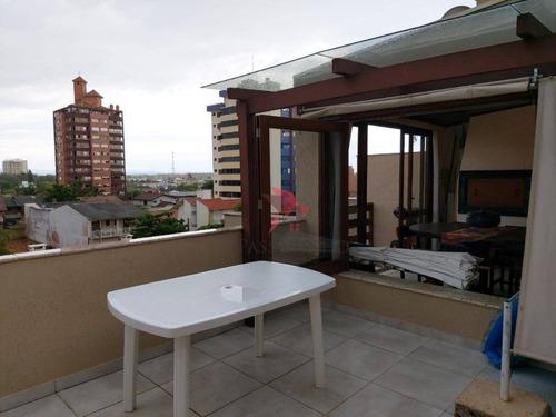 Cobertura Com 4 Dormitórios À Venda, 174 M² Por R$ 575.000,00 - Praia Grande - Torres/rs - Co0213