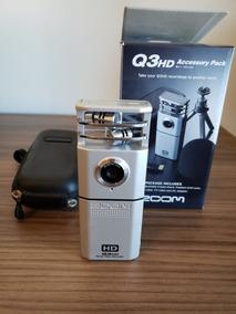 Câmera Q3 Hd Handy Video Recorder - Ideal Para Bandas