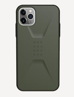 Funda Protectora Uag Para iPhone 11 Pro Max Verde Militar