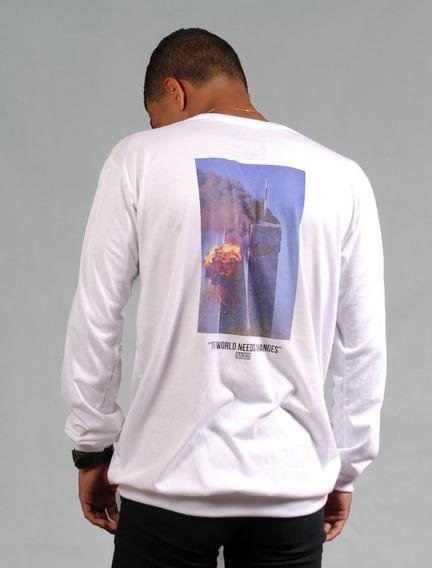 Long Sleeve Streetwear Caballero Basico Coleccion #freedom