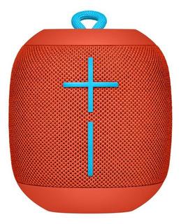 Bocina Ultimate Ears Wonderboom portátil inalámbrico Fireball