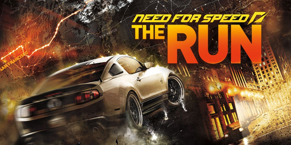 Need For Speed The Run Pc (mídia Física)