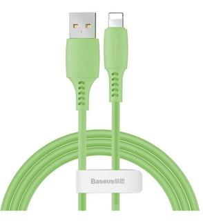 Cabo iPhone E iPad Baseus 1,2 M Carreg Rápido 2.4a Colourful