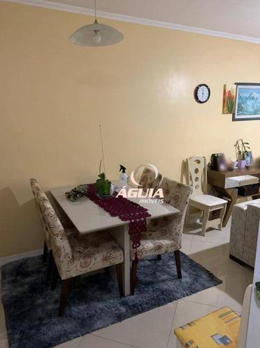 Cobertura Com 2 Dormitórios À Venda, 67 M² Por R$ 375.000,00 - Parque Jaçatuba - Santo André/sp - Co0958