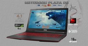 Msi Gl63 I7 3.9hz 16gb 128ssd 1tb Nvidia 1060gtx 6gb Cad 3d