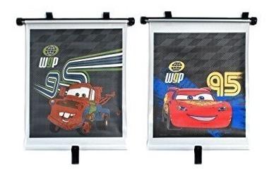 Set 2 Persianas Para Automóvil Cars - Dinsey