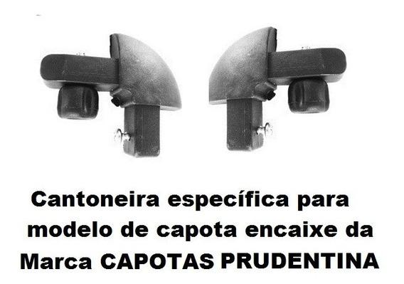 Cantoneira Nylon P/capota Prudentina Mod. Encaixe(2 Pç)pc186