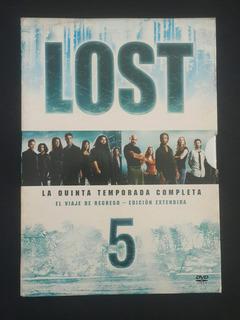 Box Set Lost - Quinta Temporada Completa - Dvds Originales