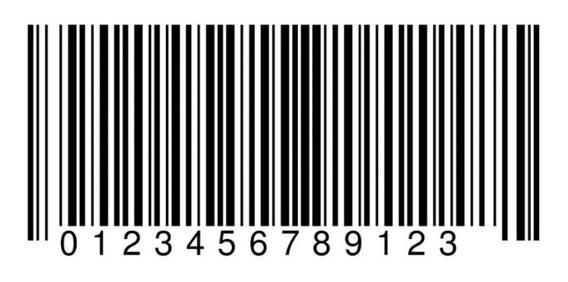 Paquete 50 Códigos De Barra Ean Upc Gs1 Con Certificado