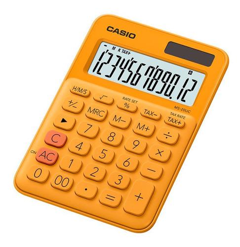 Calculadora Casio Escritorio Ms-20uc-rg