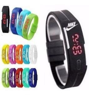 Relógio Pulseira Nike Digital Bracelete Led