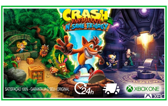 Crash Bandicoot N. Sane Trilogy No Xbox One Digital Original