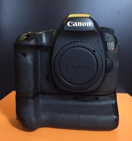 Canon Eos 5dsr 5ds R 50.6 Mp Dslr Camera (corpo) + Grip Orig