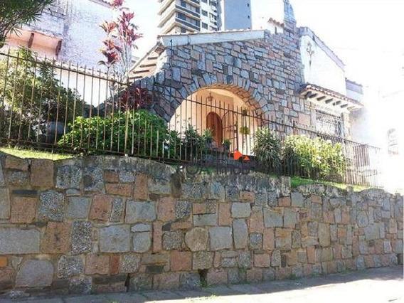 Casa Residencial À Venda, Rio Branco, Porto Alegre. - Ca0441