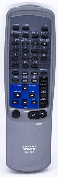 Controle Remoto Som Aiwa Rc-tn450ex Rc-tn999 Nsx-v900