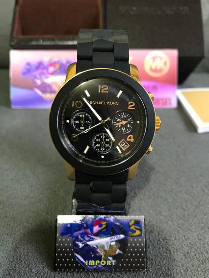 Relógio Michael Kors Mk5191 Preto Original Completo C/ Caixa
