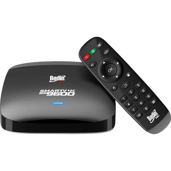 Smart Tv Box Android 6.0 4k Bs9600 Bedinsat 1gb Ram