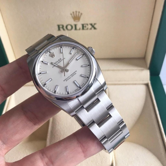 Rolex Oyster Perpetual 34mm 2019 White