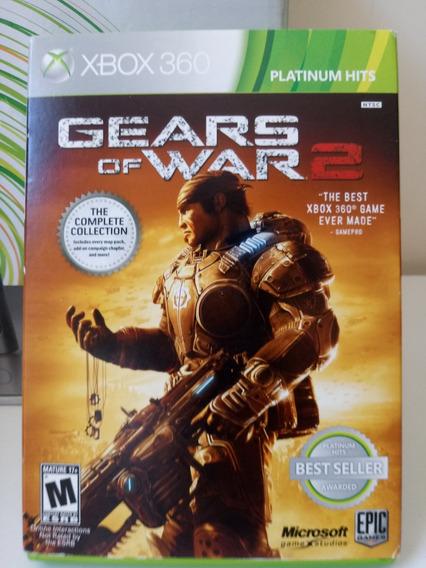 Gears Of War 2 + Dlc- Xbox 360 - Frete R$12