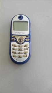 Celular Motorola C 200 Para Retirar Peças Os 002