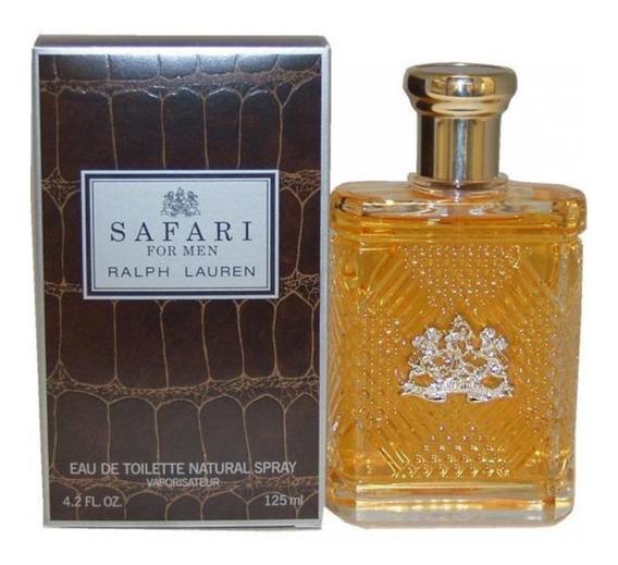 Perfume Safari Ralph Lauren Masculino 125ml 12x Fte Gratis