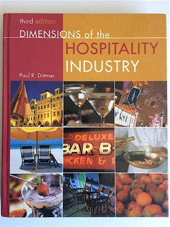 Libro Hotelería Dimensions Of The Hospitality Industry