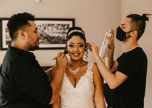 Imagem 1 de 5 de Dia Da Noiva Com Erik Silva Makeup
