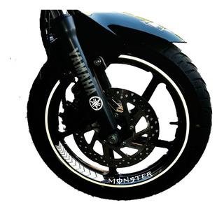Stickers Para Rines De Motos Yamaha: Reflejante / Neon