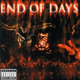 End Of Days Cd Original Eminem Guns N Roses Korn Limp Bizkit